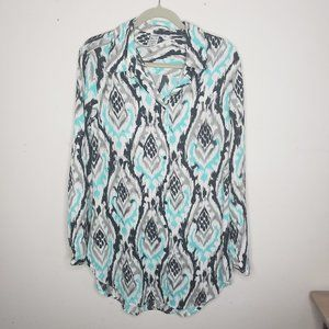 Skye Long Sleeve Swimsuit Cover Up NWT Small